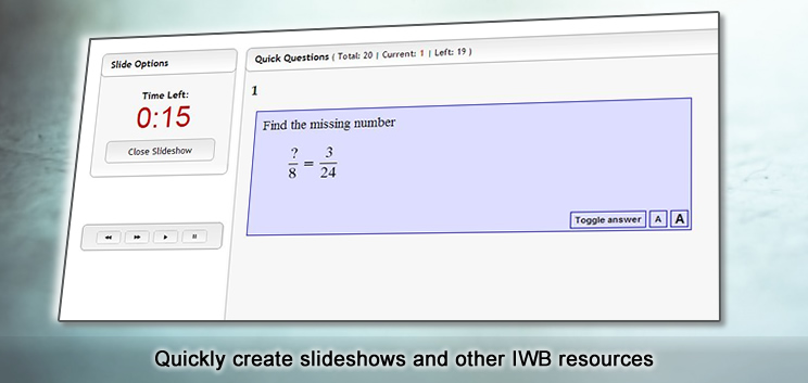 Maths IWB